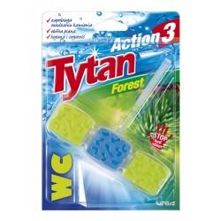 """Очиститель-ароматизатор для унитаза """"Tytan"""" 40 г. Лесной"""
